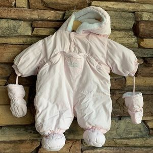 Absorba Baby Puffy Snow Suit 3 months